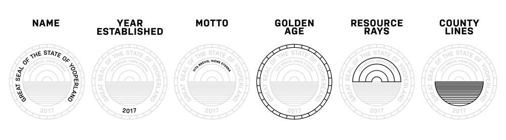 Explanation of the symbolism behind each part of the seal.