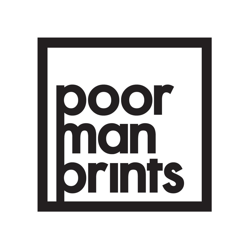 Poormanprints Icon, 2017