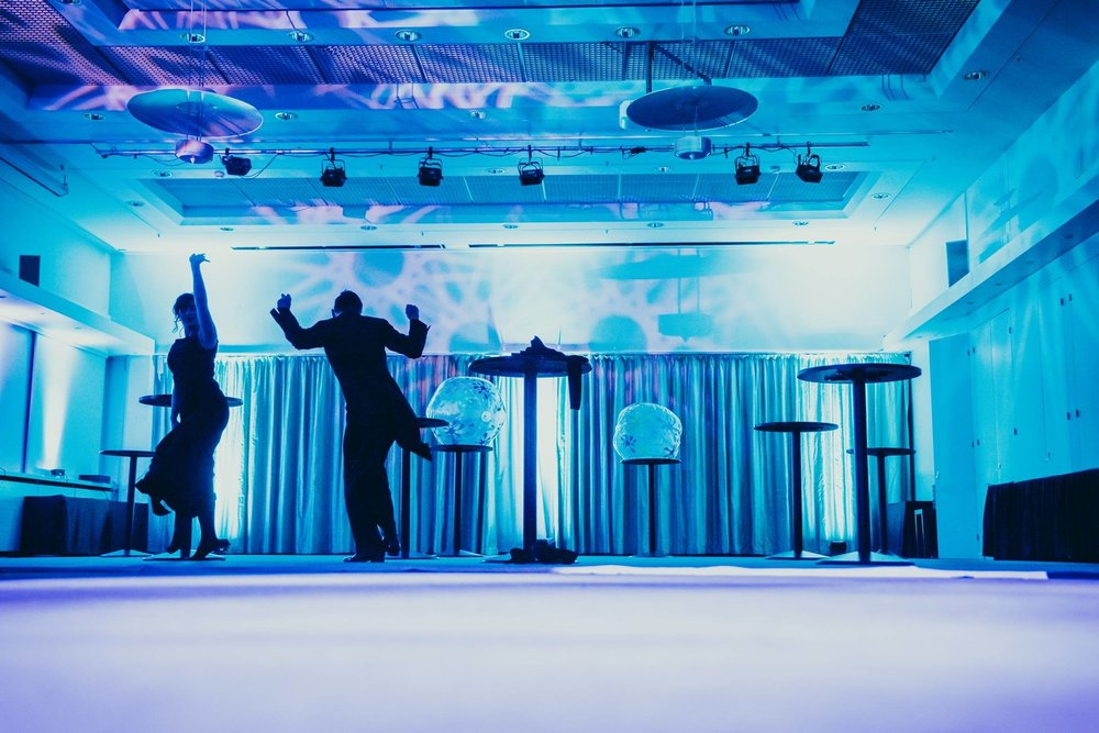 The party goes on! People were dancing until dawn at the Anniversary party in 2017.