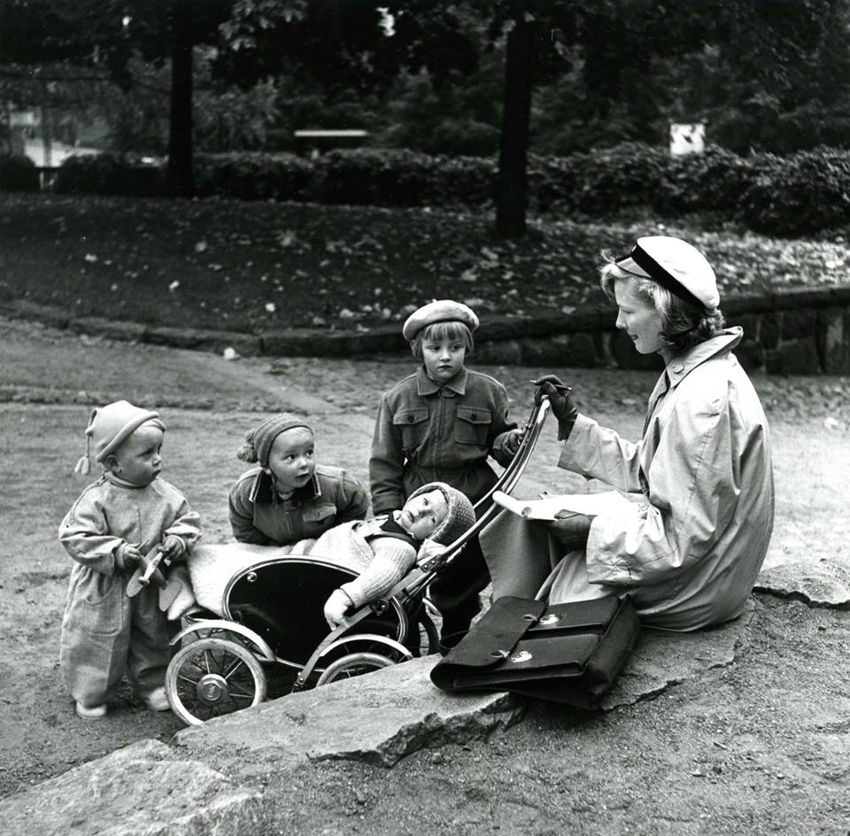 All sorts of attempts were made to improve the status of students with a family – women in particular – in the 1950s. However, the progressiveness of the 60s and 70s was still far off.  Photo: HYY's Archives.