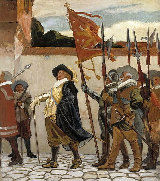 The student nation system was established in 1643.       Photo: Part 2 of Albert Edelfelt's painting for the great hall of the University of Helsinki,  Turun akatemian vihkiäiset 1640  ('Inauguration of the Academy of Turku 1640'), 1905 / YLE.