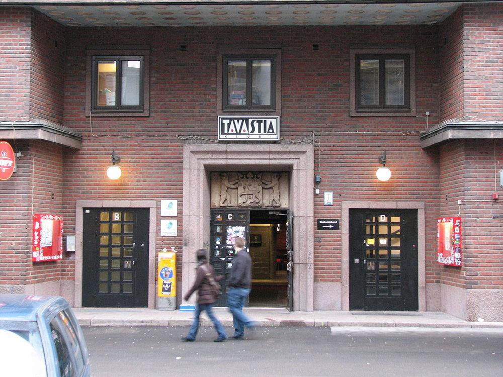 Hämäläisten talo, located on Urho Kekkosen katu, is the home of Hämäläis-Osakunta. The house of the largest student nation in Finland was completed in 1931.  Photo: Hämäläis-Osakunta