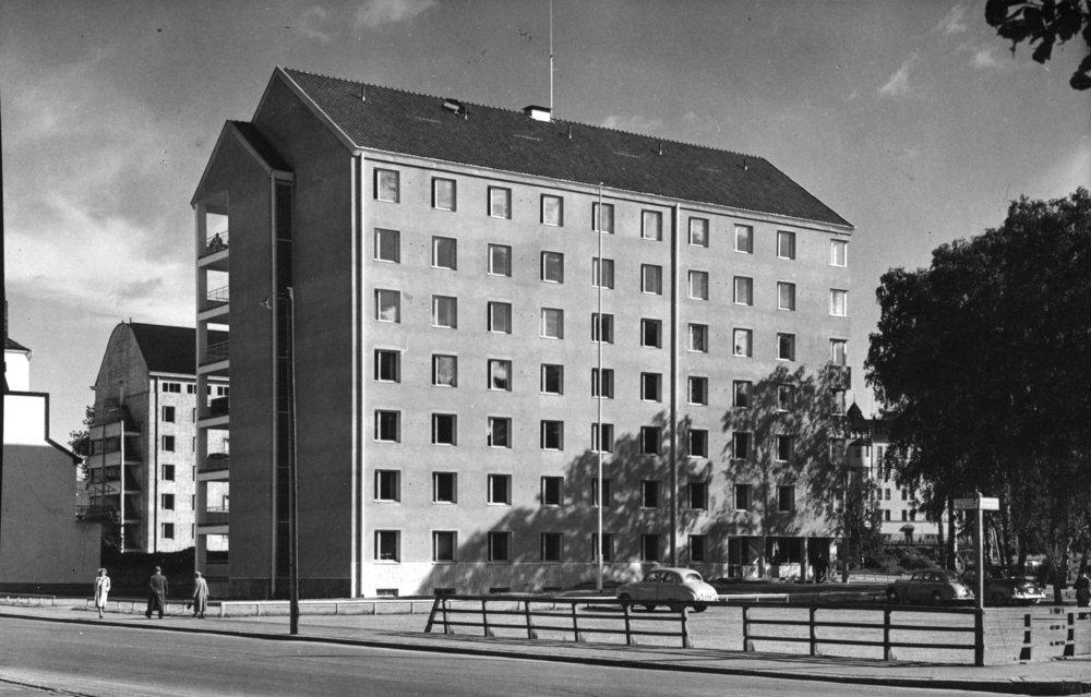 Domus Academica.  Photo: HYY's archives