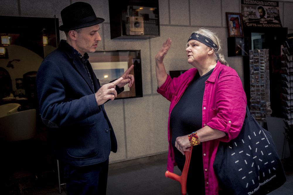 Beso Khaindrava, Gründer von Kolga Tbilisi Photo im Gespräch mit Tina Schelhorn