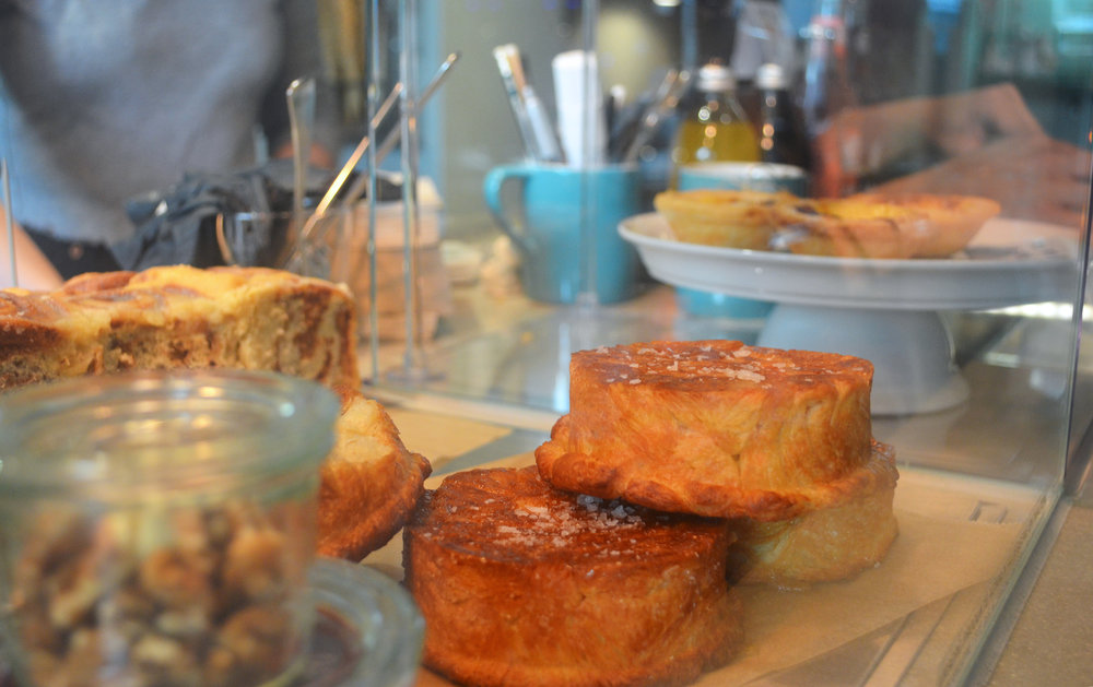 Coffee and handmade pastries are also available here and they're all locally sourced!