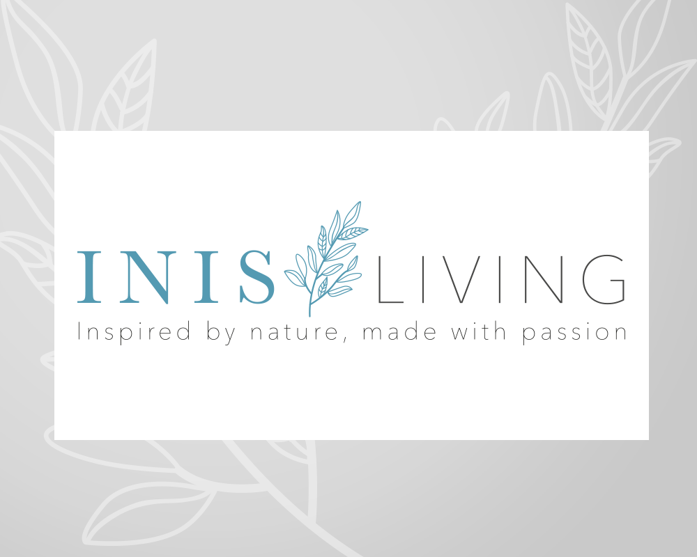 Inis Living   Inis Living is a start-up lifestyle brand selling hand-crafted homewares from Ireland, ranging from pottery to textiles.   We developed their brand identity, including the logo, fonts, tag line and colour palette.    www.inisliving.com