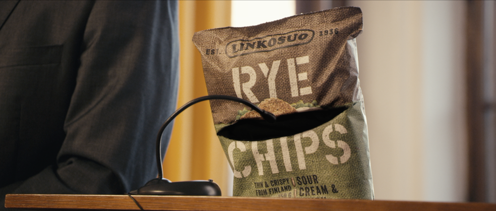 LINKOSUO - RYE CHIPS // THE PRESS CONFERENCE