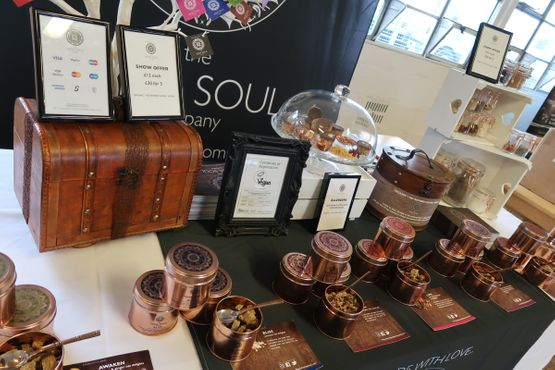 'We have a love for inspiring and being inspired.  Each of our rose gold tins and luxurious boxes of magic come with an inspirational quote card. We also  share our inspirational quotes on a daily basis on Instagram and Facebook, for our daily contribution of positivity into the world.' Mani and Ash Hirani, Founders, The Veda Soul Company, UK