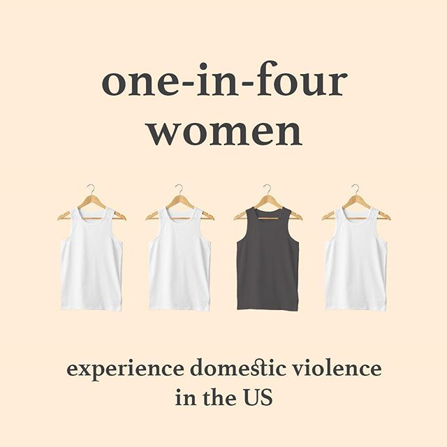 "With numbers like these how is it that we still find it socially acceptable to call a tank top a ""wife beater""?? This Domestic Violence Awareness Month #1thing we can all do is end the association between an item of clothing and an act of domestic violence • • • • • #notawifebeater #dvam #dvam2018 #wifeloversapparel #wifeovers #apparel #tanktops #vest #wifebeater #1thing #domesticviolence #domesticviolenceawareness #enddomesticviolence #believesurvivors #believewomen #supportsurvivors #nomore #wordsmatter #fashion #ootd #mensfashion #fashionblogger #womensfashion #vestinpeace #instagood #shop #picoftheday #style #nonprofit #upworthy"