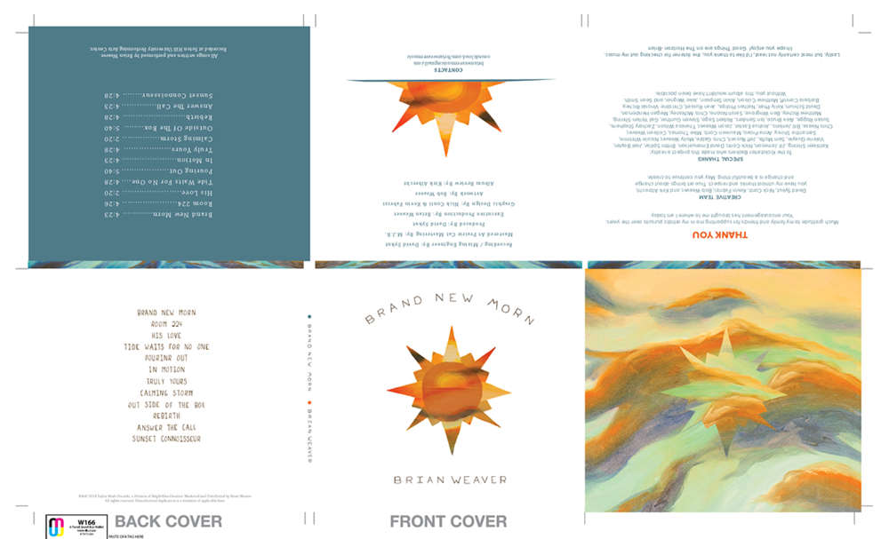Album Art Design Collab with Kevin Fabrizi