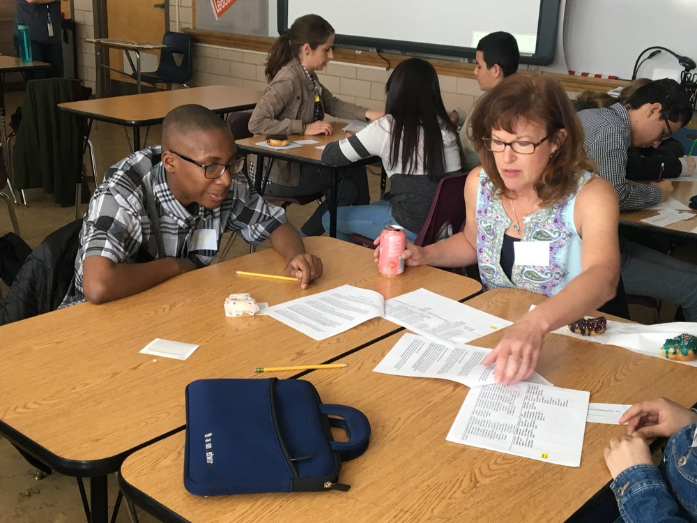 Collaborative Passion Projects - This spring we will be partnering with 8th graders at Grant Beacon Middle School. Together, we will codesign and complete projects that help us reach our dreams. Join us!