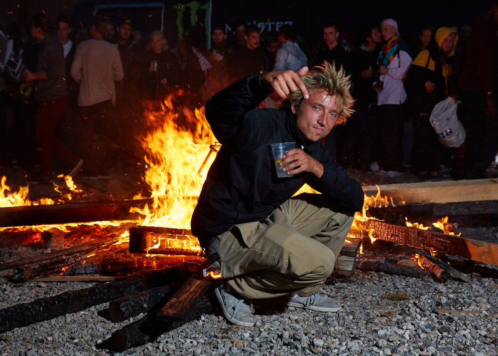 The Govenor lets it all burn at CPH OPEN 2016 Photo: arto saari