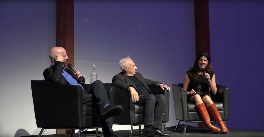 Events - On stage at the Art Gallery of Ontario in conversation with architect Frank Gehry and American architecture critic, Paul Goldberger.