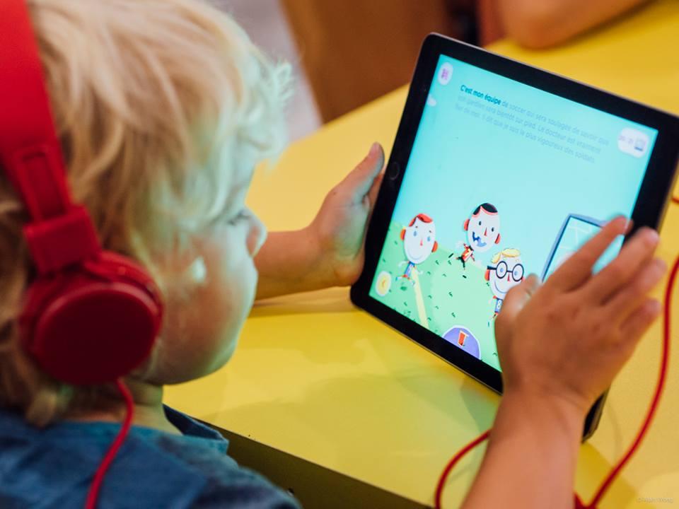 FONFON INTERACTIF  - Applications mobiles de livres interactifs pour jeunes publics
