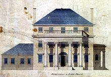 Architectural rendering of the house.