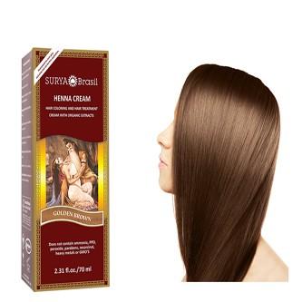 Surya Henna Cream Golden Brown 70ml Yourtonic Uk