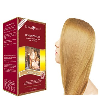 Surya Brasil Henna Powder Swedish Blonde 50g Yourtonic Uk