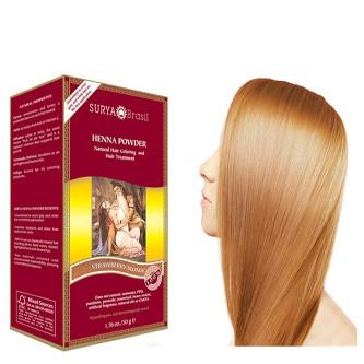Surya Brasil Henna Powder Strawberry Blonde 50g Yourtonic Uk