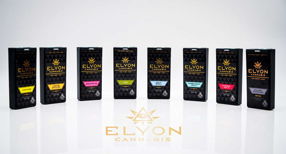 Fresh-Packed Cannabis Rolls - Elyon's premium-potency cannabis rolled and packaged fresh for the most convenient, consistent, and potent smoking experience that you can trust.