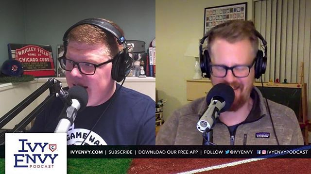 Last night, we recorded the first episode of our 11th season of podcasting on the Cubs. We are live broadcasting our recordings now. You can watch them on our Facebook page, on Twitter, or at IvyEnvy.com/YouTube