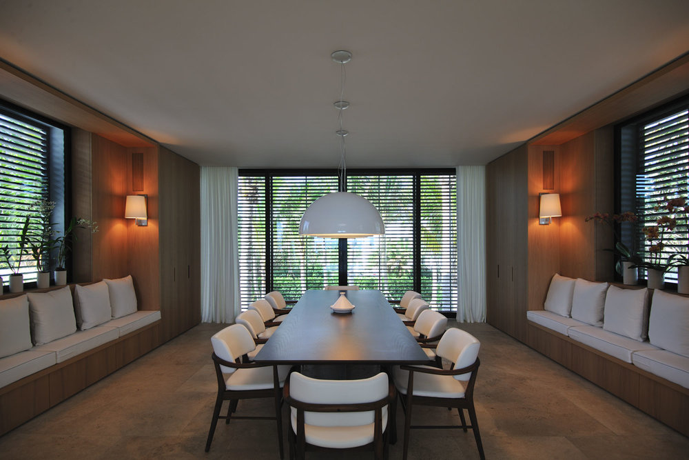 Modern International Dining Room