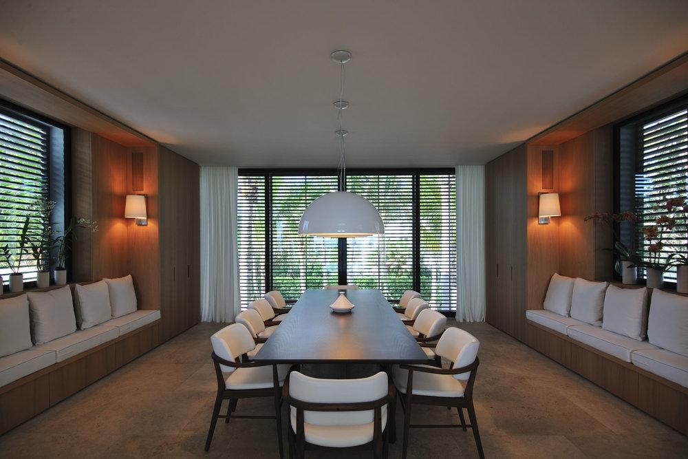 Modern International Dining Room