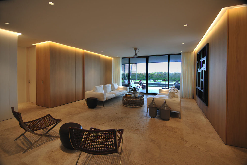 Modern International Lower Living Room