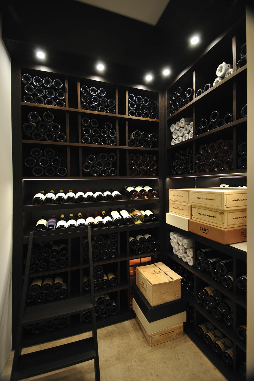 Modern International Wine Room