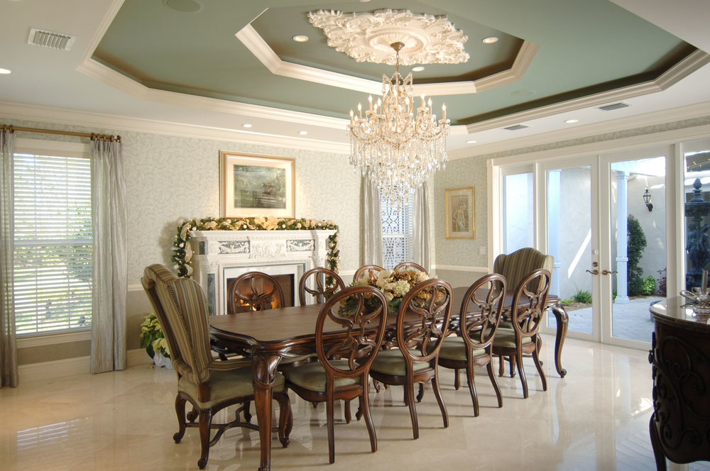 Plantation Home Dining Room