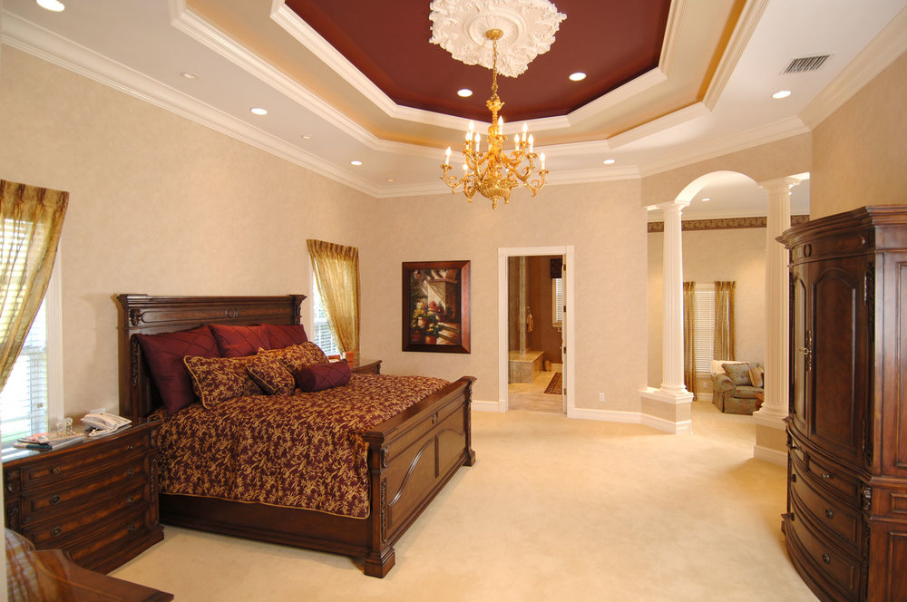 Plantation Home Master Bedroom