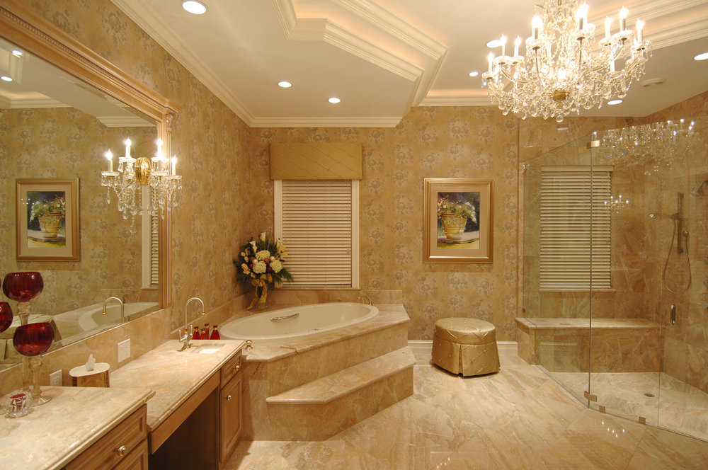 Plantation Home Her Master Bathroom