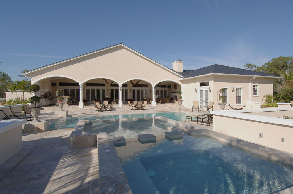 Plantation Home Pool