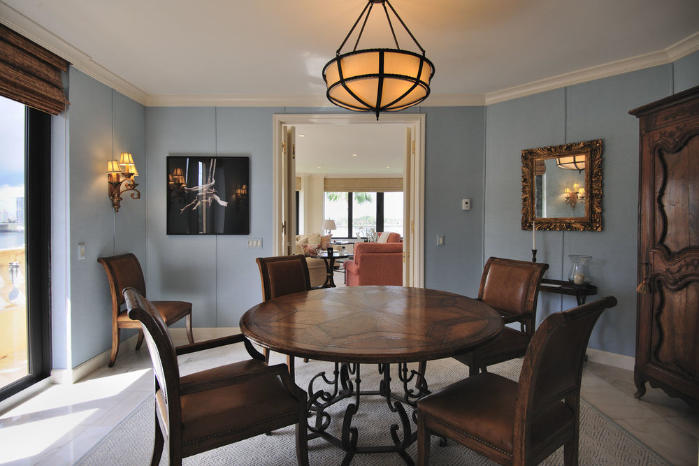 Transitional Home Dining Room