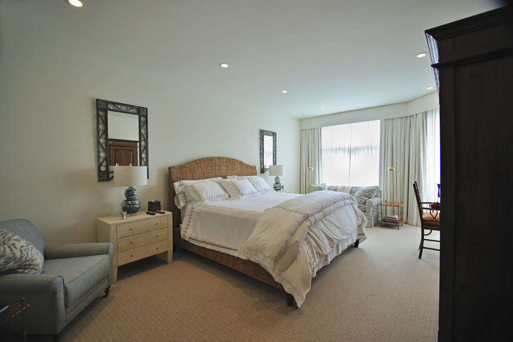 Transitional Home Guest Bedroom