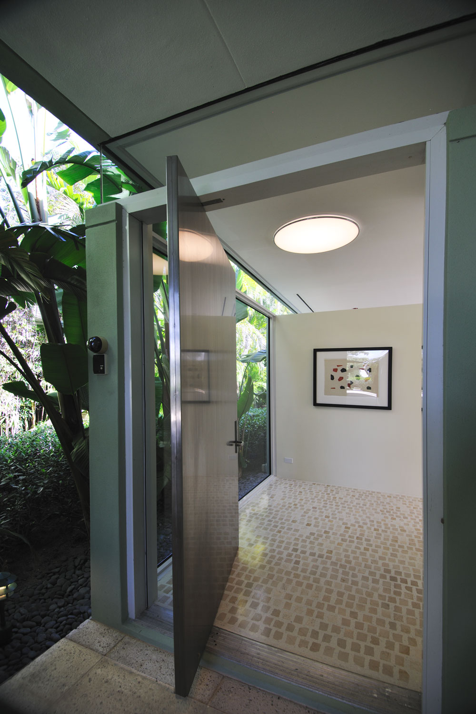 Modern Home Front Entrance