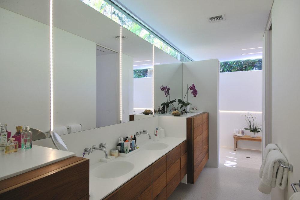 Modern Home Master Bathroom