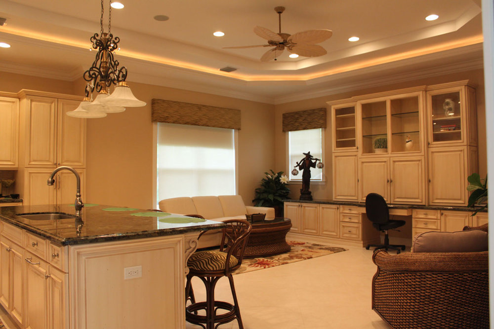 British West Indies Home Kitchen