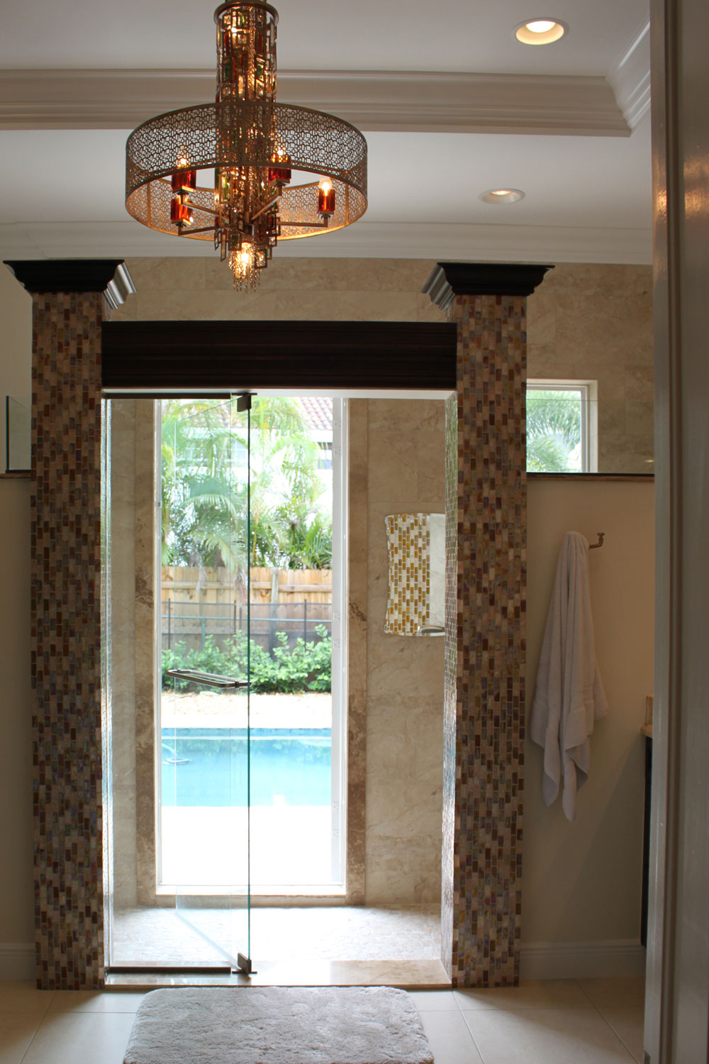 British West Indies Home Master Bathroom