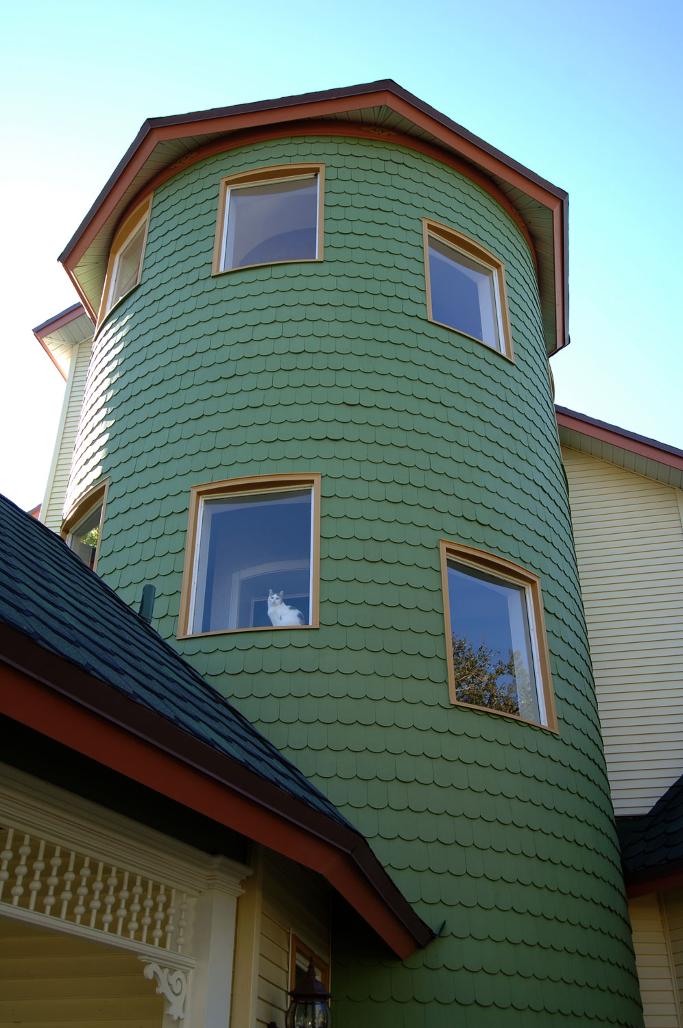 Victorian Home Tower