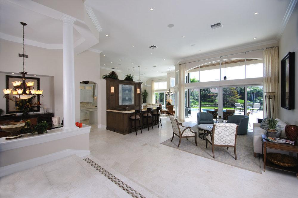 Resort Home Living Room