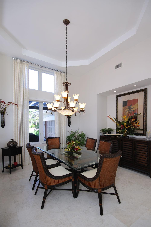 Resort Home Dining Room