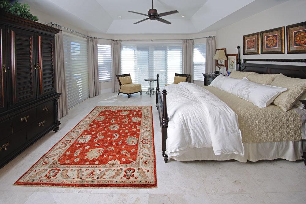 Resort Home Master Bedroom