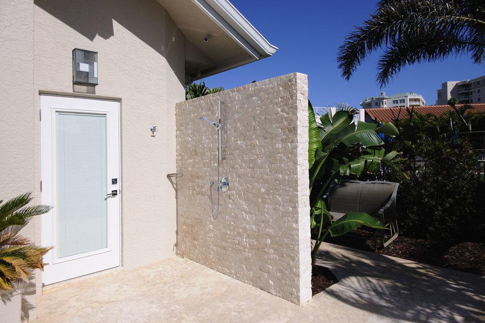 Resort Home Outdoor Shower