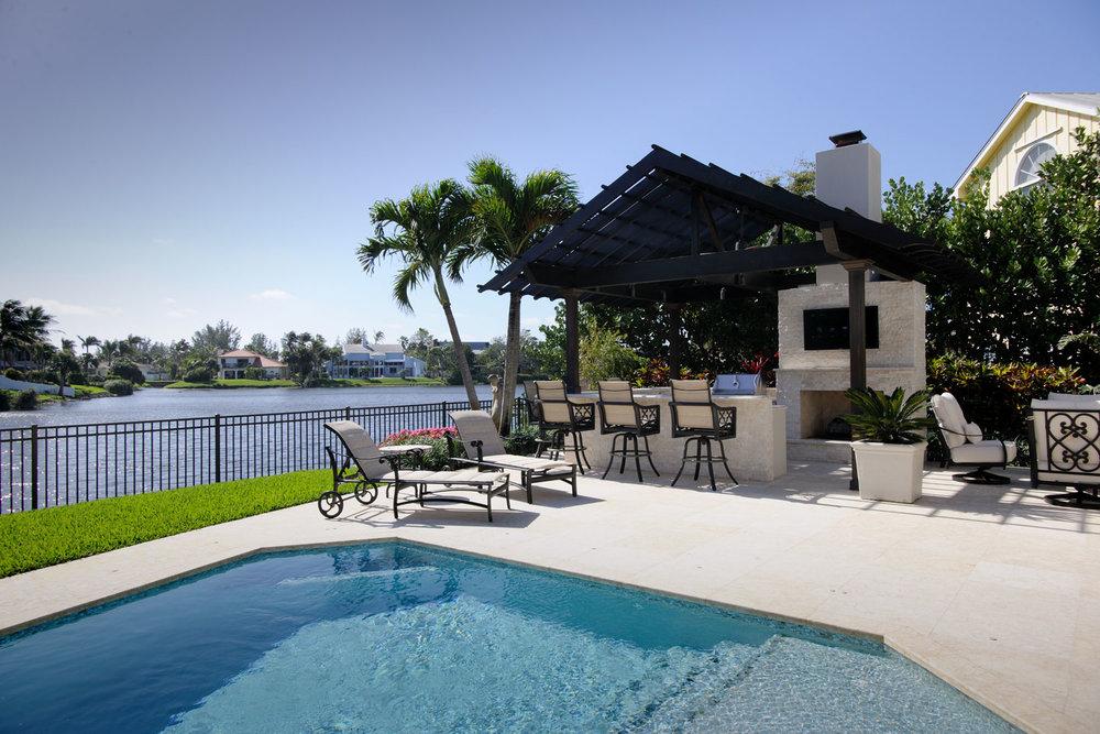 Resort Home Pool Deck