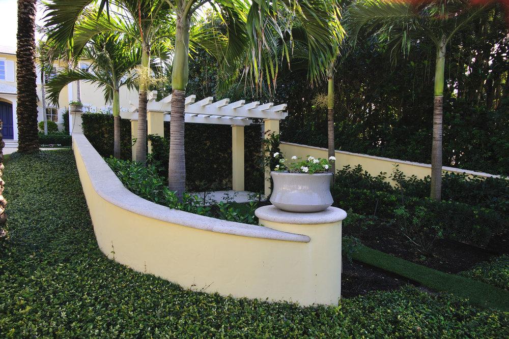 Caribbean Colonial Home Landscape