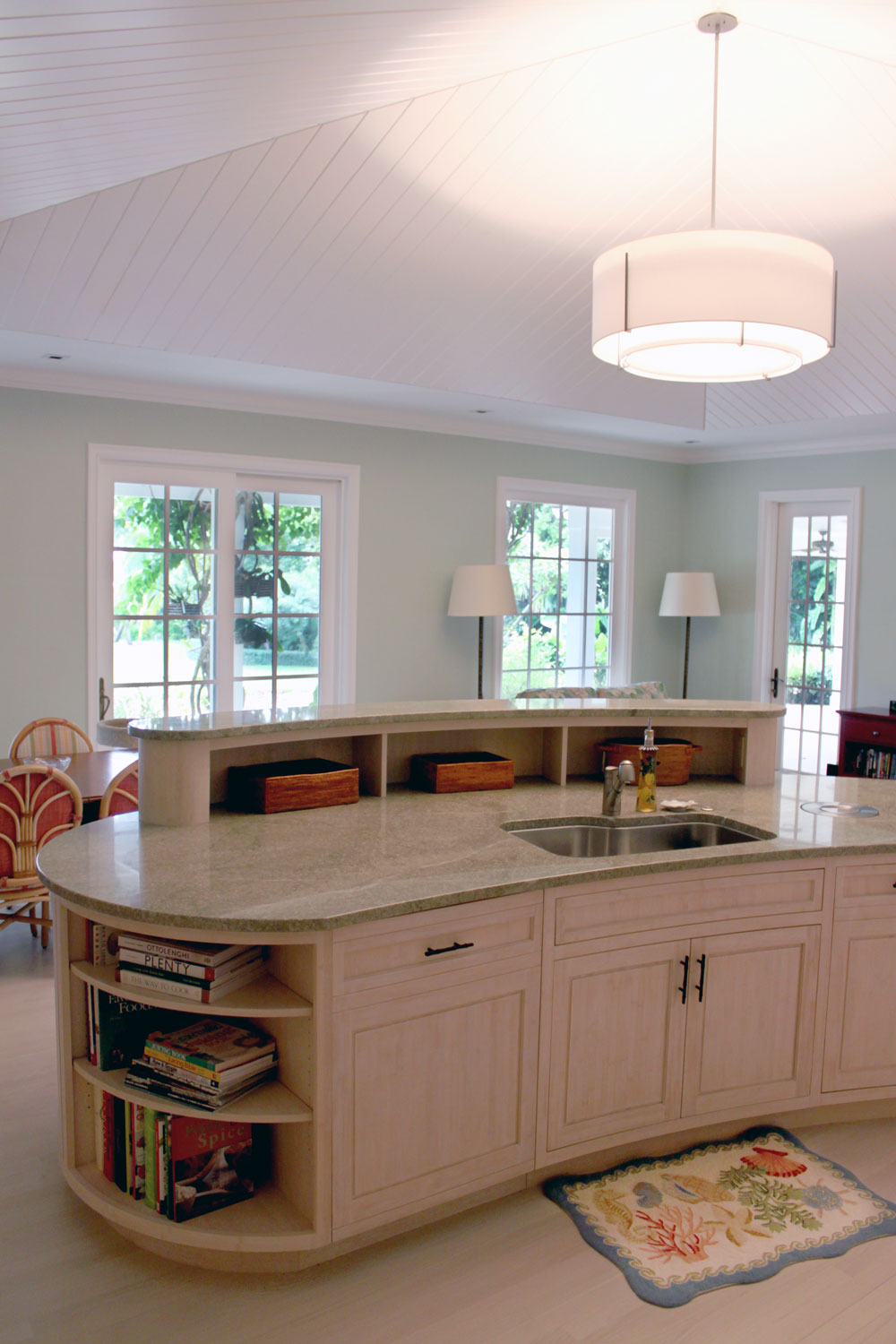 Classic Palm Beach Coastal Kitchen