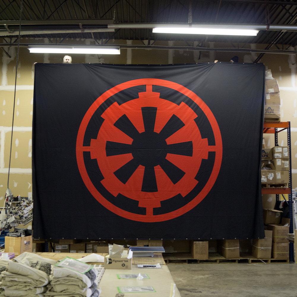 Cog Banners Metal Banners