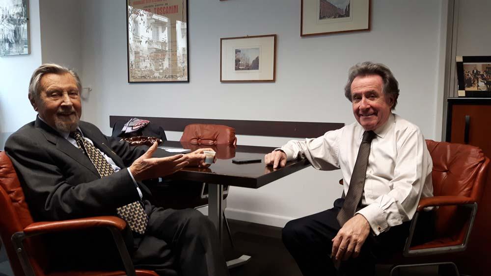 Antonio Mormone con Buchbinder