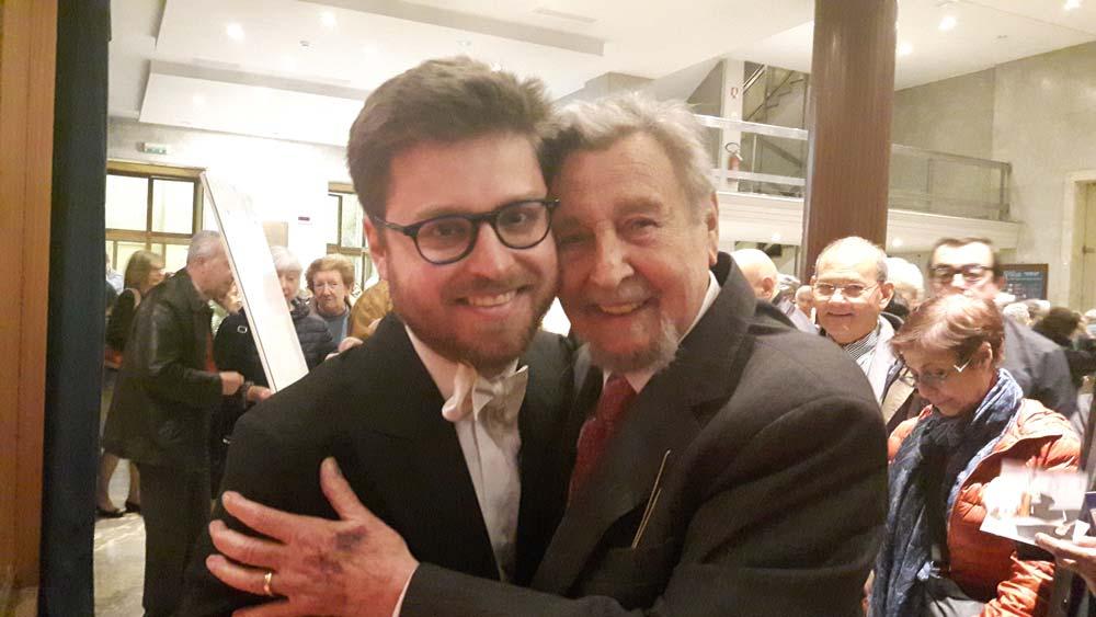 Antonio Mormone con Edoardo Zosi