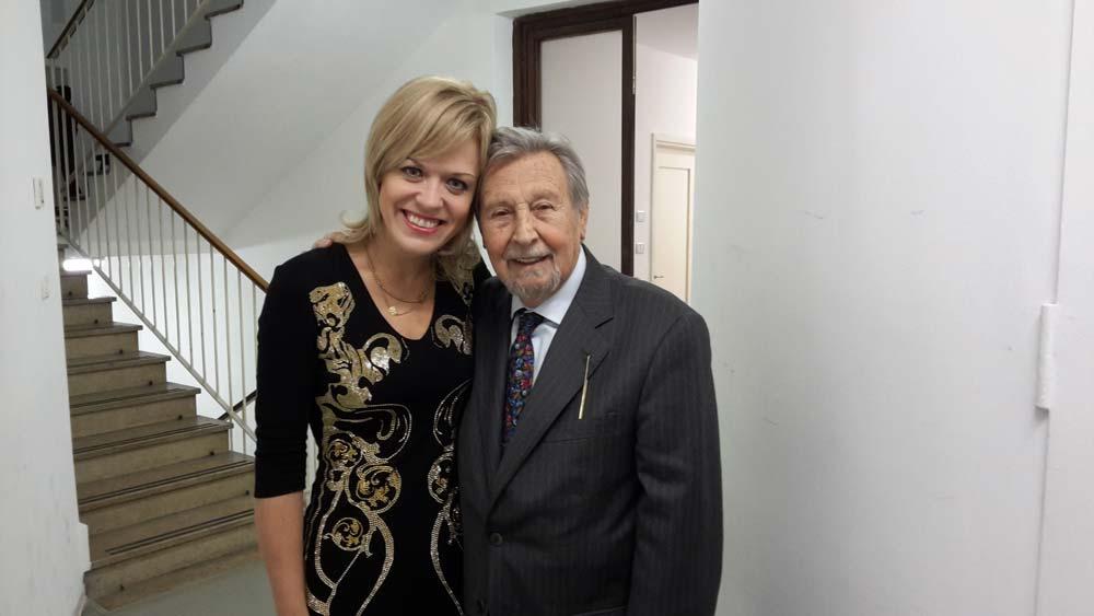 Antonio Mormone con Olga Kern